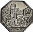 Photo numismatique  ARCHIVES VENTE 2015 -26-28 oct -Coll Jean Teitgen JETONS ET MEDAILLES DES MINES Mines de DECAZEVILLE (Bassin du Tarn et de l'Aveyron)  1434- Jeton, 1826.