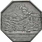 Photo numismatique  ARCHIVES VENTE 2015 -26-28 oct -Coll Jean Teitgen JETONS ET MEDAILLES DES MINES Mines METALLIQUES Mines de BAIGORY (Pyrénées-Atlantiques) 1437- Jeton, 1787.