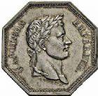 Photo numismatique  ARCHIVES VENTE 2015 -26-28 oct -Coll Jean Teitgen JETONS ET MÉDAILLES DES MINES SALINES de l'EST  1441- Jeton Napoléon Ier, 1806.