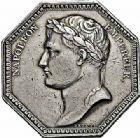 Photo numismatique  ARCHIVES VENTE 2015 -26-28 oct -Coll Jean Teitgen JETONS ET MEDAILLES DES MINES SALINES de l'EST  1442- Napoléon Ier. Jeton, 1806.