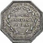 Photo numismatique  ARCHIVES VENTE 2015 -26-28 oct -Coll Jean Teitgen JETONS ET MÉDAILLES DES MINES SALINES de l'EST  1442- Napoléon Ier. Jeton, 1806.