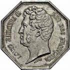 Photo numismatique  ARCHIVES VENTE 2015 -26-28 oct -Coll Jean Teitgen JETONS ET MEDAILLES DES MINES Direction Gale des Ponts et Chaussées et des Mines  1446- Jeton.