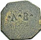 Photo numismatique  ARCHIVES VENTE 2015 -26-28 oct -Coll Jean Teitgen SYSTEMES DE PESAGE POIDS DE VILLES AGDE (Hérault) 1456- Demi-livre.