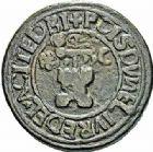 Photo numismatique  ARCHIVES VENTE 2015 -26-28 oct -Coll Jean Teitgen SYSTÈMES DE PESAGE POIDS DE VILLES ALBI (Tarn) 1457- Livre (1557).