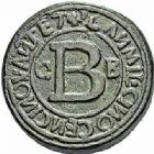 Photo numismatique  ARCHIVES VENTE 2015 -26-28 oct -Coll Jean Teitgen SYSTEMES DE PESAGE POIDS DE VILLES ALBI (Tarn) 1457- Livre (1557).