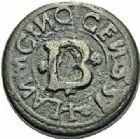 Photo numismatique  ARCHIVES VENTE 2015 -26-28 oct -Coll Jean Teitgen SYSTEMES DE PESAGE POIDS DE VILLES ALBI (Tarn) 1458- Demi-Livre (1557).