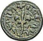 Photo numismatique  ARCHIVES VENTE 2015 -26-28 oct -Coll Jean Teitgen SYSTEMES DE PESAGE POIDS DE VILLES CARCASSONNE (Aude) 1468- Émission, attribuée à Philippe III (1271-1285). Demi-quart de livre.