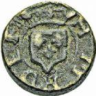 Photo numismatique  ARCHIVES VENTE 2015 -26-28 oct -Coll Jean Teitgen SYSTÈMES DE PESAGE POIDS DE VILLES CARCASSONNE (Aude) 1469- Émission de 1555, 1er type au nom d'Henri II. Demi-quart de livre.