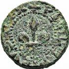 Photo numismatique  ARCHIVES VENTE 2015 -26-28 oct -Coll Jean Teitgen SYSTÈMES DE PESAGE POIDS DE VILLES LIMOUX (Aude) 1476- Émission de Philippe III (1271-1285). Demi-quart  de livre.