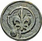 Photo numismatique  ARCHIVES VENTE 2015 -26-28 oct -Coll Jean Teitgen SYSTÈMES DE PESAGE POIDS DE VILLES MONTAUBAN (Tarn-et-Garonne) 1478- Émission de 1573. Livre, 1573.