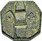 Photo numismatique  ARCHIVES VENTE 2015 -26-28 oct -Coll Jean Teitgen SYSTEMES DE PESAGE POIDS DE VILLES MONTPELLIER (Hérault) 1481- Once ou 16ème de livre du 8ème type, 1777.