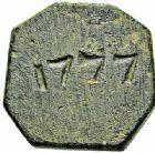 Photo numismatique  ARCHIVES VENTE 2015 -26-28 oct -Coll Jean Teitgen SYSTÈMES DE PESAGE POIDS DE VILLES MONTPELLIER (Hérault) 1481- Once ou 16ème de livre du 8ème type, 1777.