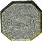 Photo numismatique  ARCHIVES VENTE 2015 -26-28 oct -Coll Jean Teitgen SYSTEMES DE PESAGE POIDS DE VILLES NARBONNE (Aude) 1483- Émission anépigraphe. Deux livres.