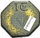 Photo numismatique  ARCHIVES VENTE 2015 -26-28 oct -Coll Jean Teitgen SYSTEMES DE PESAGE POIDS DE VILLES NARBONNE (Aude) 1485- Demi-Livre.