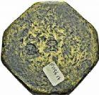 Photo numismatique  ARCHIVES VENTE 2015 -26-28 oct -Coll Jean Teitgen SYSTEMES DE PESAGE POIDS DE VILLES NÎMES (Gard) 1486- Livre en forme de carré à pans coupés, fin du XVIIIe siècle.