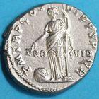 Photo numismatique  MONNAIES EMPIRE ROMAIN TRAJAN (98-117)  Denier.