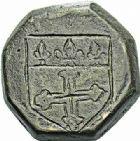 Photo numismatique  ARCHIVES VENTE 2015 -26-28 oct -Coll Jean Teitgen SYSTÈMES DE PESAGE POIDS DE VILLES SAINT-AFFRIQUE (Aveyron) 1491- Demi-livre.