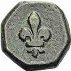 Photo numismatique  ARCHIVES VENTE 2015 -26-28 oct -Coll Jean Teitgen SYSTEMES DE PESAGE POIDS DE VILLES SAINT-AFFRIQUE (Aveyron) 1491- Demi-livre.