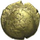 Photo numismatique  MONNAIES IBERIE- GAULE - CELTES AMBIANI (Bassin de la Somme)  Statère d'or uniface (de 60 à 30/25 avant J. C.).