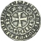 Photo numismatique  MONNAIES ROYALES FRANCAISES JEAN II LE BON (22 août 1350-18 avril 1364)  Gros tournois du Languedoc.