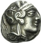 GRECE ANTIQUE ATTIQUE T�tradrachme.