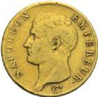 Photo numismatique  MONNAIES MODERNES FRANÇAISES NAPOLEON Ier, empereur (18 mai 1804- 6 avril 1814)  40 francs or, Turin 1806.