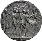 Photo numismatique  MEDAILLES MEDAILLES MEDAILLES SATIRIQUES ALLEMANDES Médailles de Karl Goetz Naufrage du Lusitania, 7 mai 1915. Die Torpedierung der Lusitania.