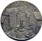 Photo numismatique  MEDAILLES MEDAILLES MEDAILLES SATIRIQUES ALLEMANDES Médailles de Karl Goetz Le code Napoléon, 1920. Wüstlinge am Rhein.