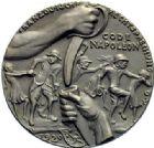 Photo numismatique  MEDAILLES MÉDAILLES MEDAILLES SATIRIQUES ALLEMANDES Médailles de Karl Goetz Le code Napoléon, 1920. Wüstlinge am Rhein.