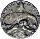 Photo numismatique  MEDAILLES MEDAILLES MEDAILLES SATIRIQUES ALLEMANDES Médailles de Karl Goetz Infamie blanche dans la Ruhr, 1923. Die weisse Schmach.