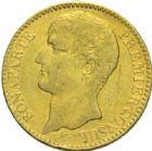 Photo numismatique  MONNAIES MODERNES FRANÇAISES LE CONSULAT (à partir du 24 décembre 1799-18 mai 1804)  40 francs or, Paris an XI.