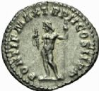 Photo numismatique  MONNAIES EMPIRE ROMAIN MACRIN (217-218)  Denier, Rome