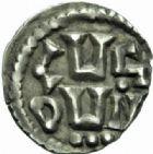 Photo numismatique  MONNAIES CAROLINGIENS CHARLEMAGNE, roi (768-800) empereur (800-814) Premier type (768 - avant 793/794) Denier, Lyon.