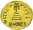 Photo numismatique  MONNAIES EMPIRE BYZANTIN CONSTANS II (641-668)  Solidus léger, Constantinople.