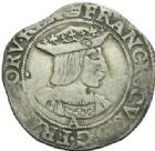 Photo numismatique  MONNAIES ROYALES FRANCAISES FRANCOIS I (1er janvier 1515–31 mars 1547)  Teston du 19e type, Paris.