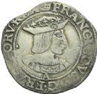 Photo numismatique  MONNAIES ROYALES FRANCAISES FRANCOIS I (1er janvier 1515–31 mars 1547)  Teston du 19e type, Paris.