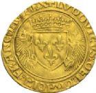 Photo numismatique  MONNAIES ROYALES FRANCAISES LOUIS XII (8 avril 1498-31 décembre 1514)  Ecu d'or au porc-épic, émission du 19 novembre 1507, Châlons.