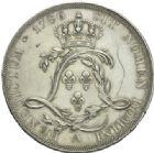 Photo numismatique  MONNAIES ROYALES FRANCAISES LOUIS XVI (10 mai 1774–21 janvier 1793)  Essai de l'écu de Calonne, frappé à Paris en 1786.