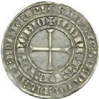 Photo numismatique  MONNAIES BARONNIALES Duché de LORRAINE JEAN Ier (1346-1389) Gros, Nancy.