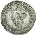 Photo numismatique  MONNAIES BARONNIALES Duché de LORRAINE CHARLES II (1390-1431) Gros, atelier indéterminé.