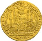 ROYALES FRANCAISES PHILIPPE VI DE VALOIS(1er avril 1328-22 ao�t 1350) Ecu d'or � la chaise, 1�re �mission, 1er janvier 1337.