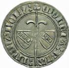 Photo numismatique  MONNAIES BARONNIALES Duché de LORRAINE JEAN Ier (1346-1389) Gros au heaume, Nancy.