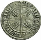Photo numismatique  MONNAIES BARONNIALES Duché de LORRAINE CHARLES II (1390-1431) Gros au lion, Sierck.