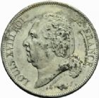 Photo numismatique  MONNAIES MODERNES FRANÇAISES LOUIS XVIII, 2e restauration (8 juillet 1815-16 septembre 1824)  5 francs, Lille 1822.