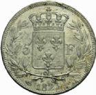Photo numismatique  MONNAIES MODERNES FRANÇAISES LOUIS XVIII, 2e restauration (8 juillet 1815-16 septembre 1824)  5 francs, Bayonne 1823.