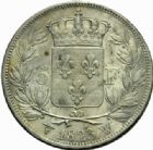 Photo numismatique  MONNAIES MODERNES FRANÇAISES LOUIS XVIII, 2e restauration (8 juillet 1815-16 septembre 1824)  5 francs, Lille 1823.