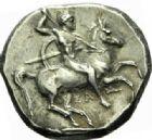 Photo numismatique  MONNAIES GRECE ANTIQUE Italie - Calabre Tarente sous Alexandre le Molosse (vers 334-330) Statère.