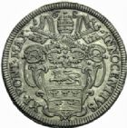 Photo numismatique  MONNAIES MONNAIES DU MONDE ITALIE SAINT-SIEGE, Innocent XI (1676-1689) Teston, 1684.