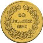 Photo numismatique  MONNAIES MODERNES FRANÇAISES LOUIS-PHILIPPE Ier (9 août 1830-24 février 1848)  40 francs or, Paris 1834.