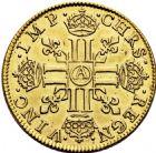 Photo numismatique  ARCHIVES VENTE 2016 -6 juin ROYALES FRANCAISES LOUIS XIII (16 mai 1610-14 mai 1643)  8- Louis d'or à la mèche courte, Paris 1641.